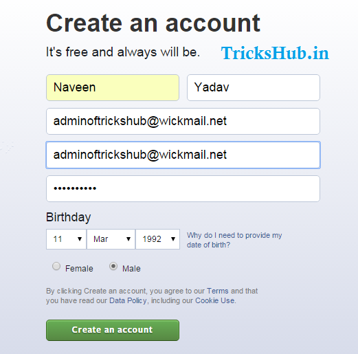 How To Create Unlimited Fake Facebook Accounts Easily