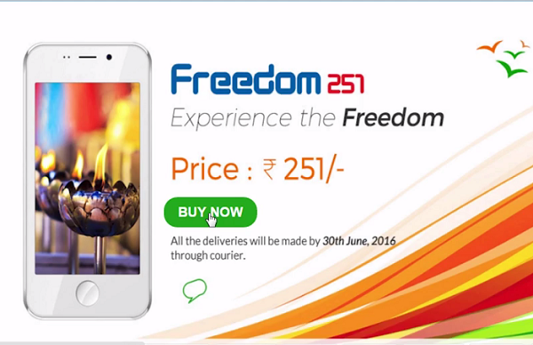 Trick To Buy Freedom251 Phone Successfully