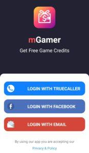 mGamer register