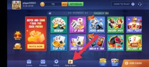 Teen Patti Refer and Earn